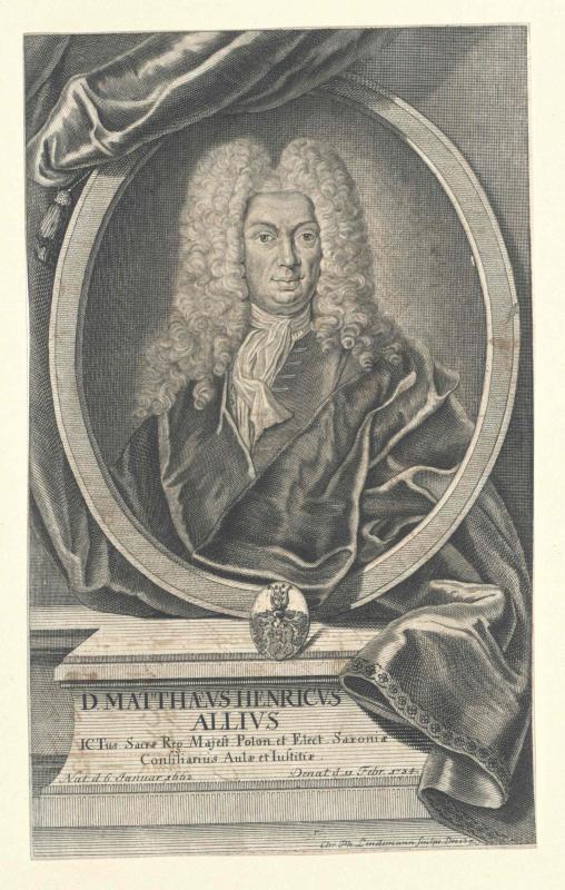 Allius, Matthäus Heinrich
