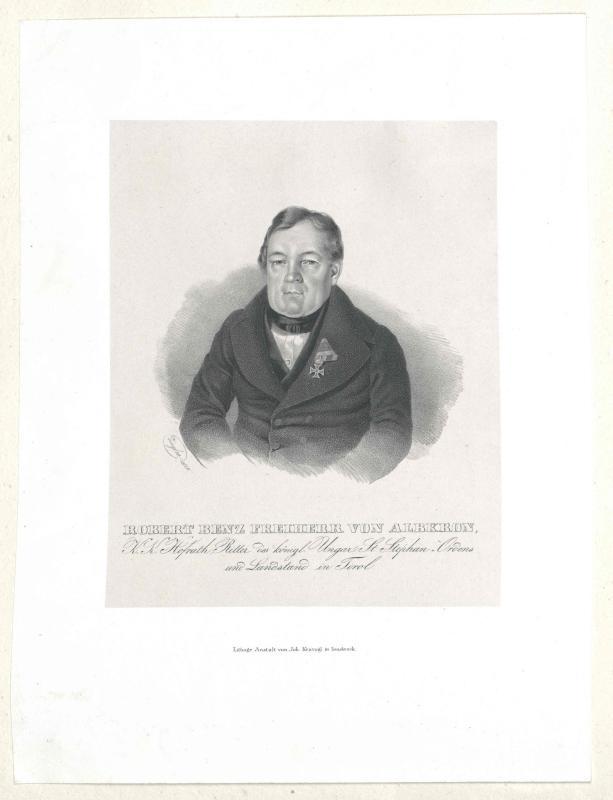 Benz, Freiherr von Albkron, Robert
