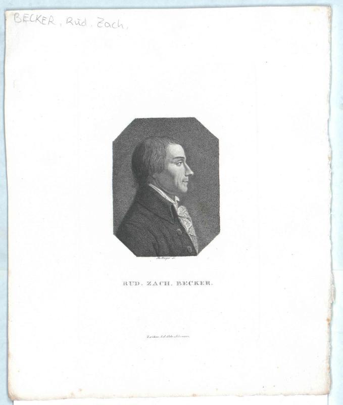 Becker, Rudolf Zacharias
