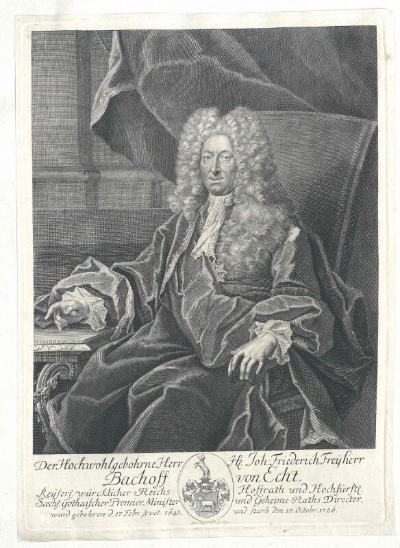 Bachoff von Echt, Johann Friedrich Freiherr