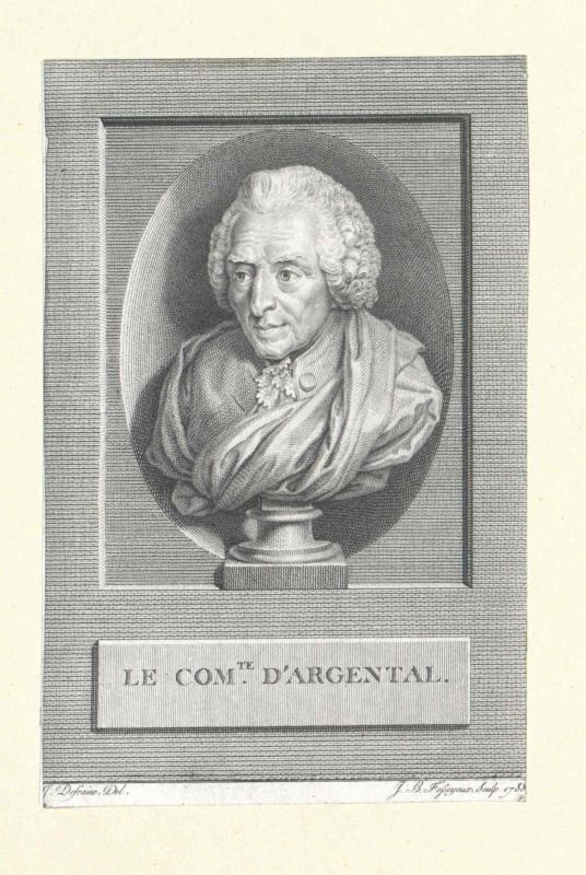 Argental, Charles Augustin de Ferriol, comte d'