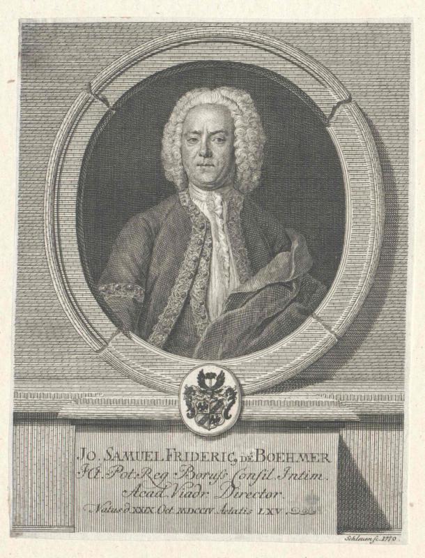 Böhmer, Johann Samuel Friedrich von