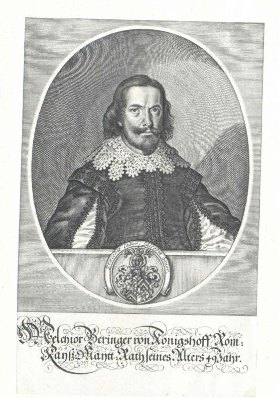 Beringer von Königshoff, Melchior