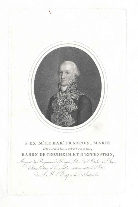 Carnea-Steffaneo, Franz Maria Freiherr von