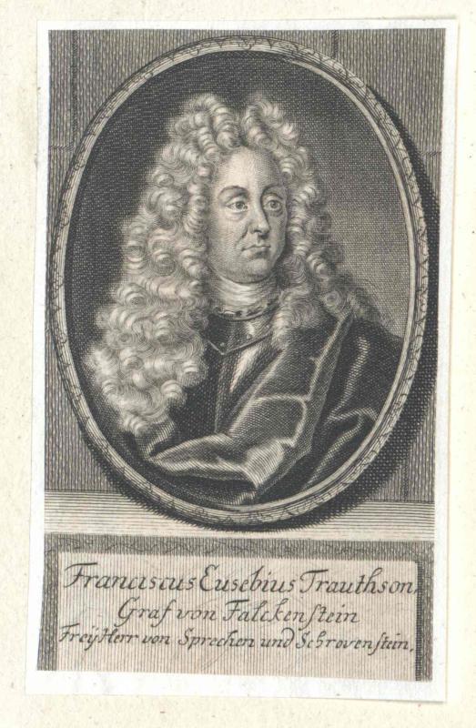 Trautson, Graf von Falkenstein, Franz Eusebius