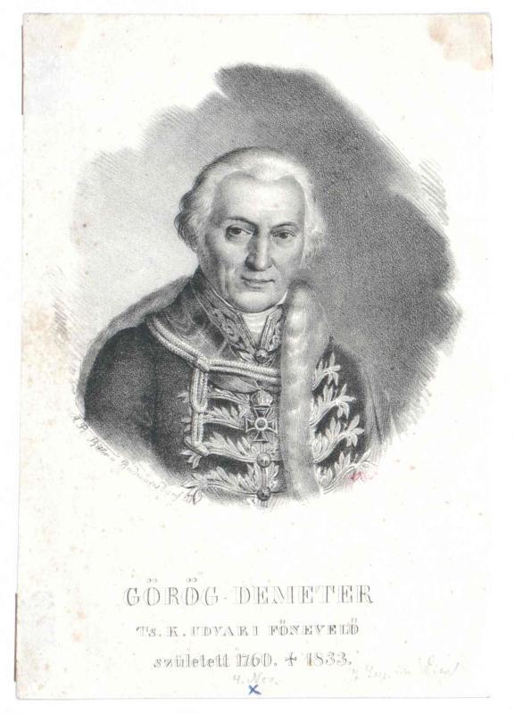 Görög, Demeter von
