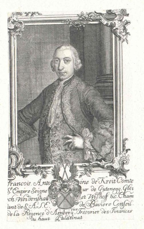 Kreith zu Gutteneck, Franz Anton Graf