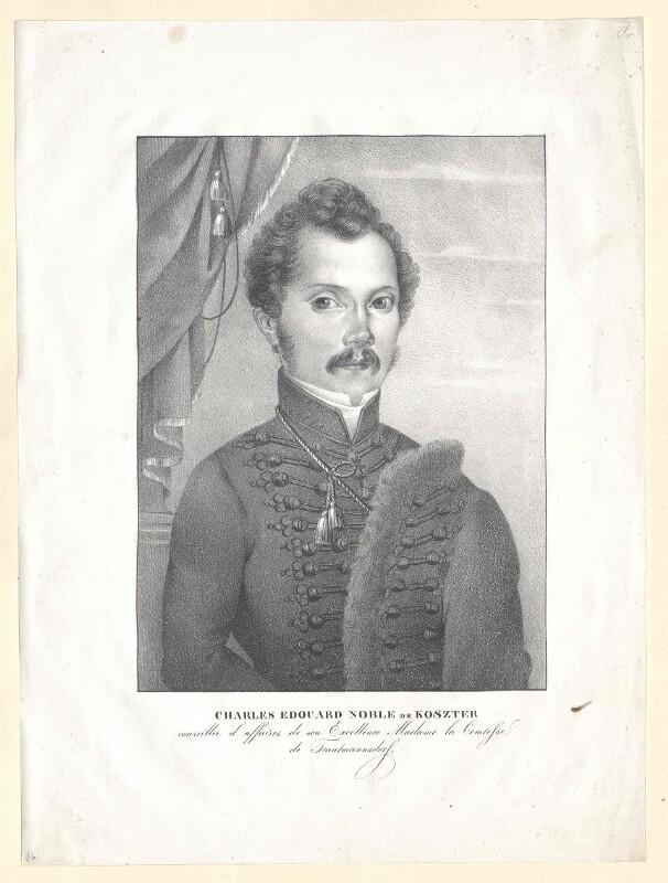 Koszter, Charles Edouard Edler von