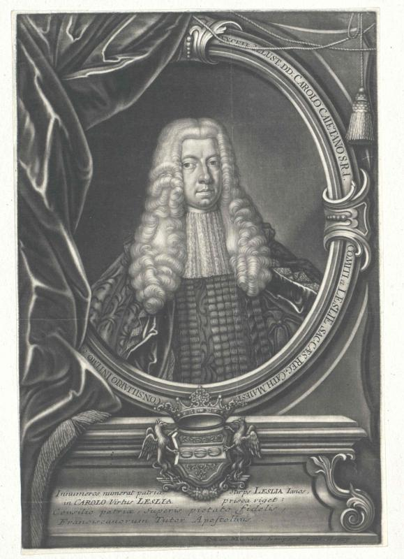 Leslie, Charles Cajetan Graf von