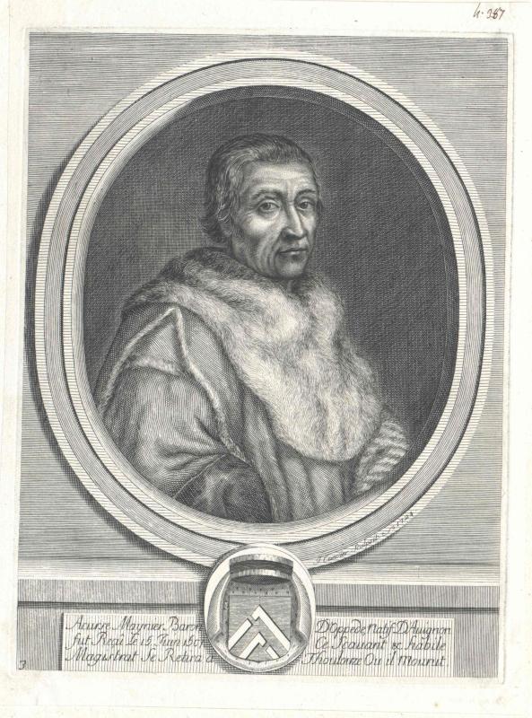 Meynier, baron d' Oppède, Accurse