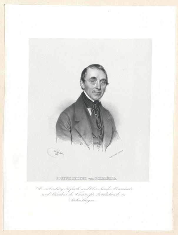 Bedeus von Scharberg, Josef Freiherr