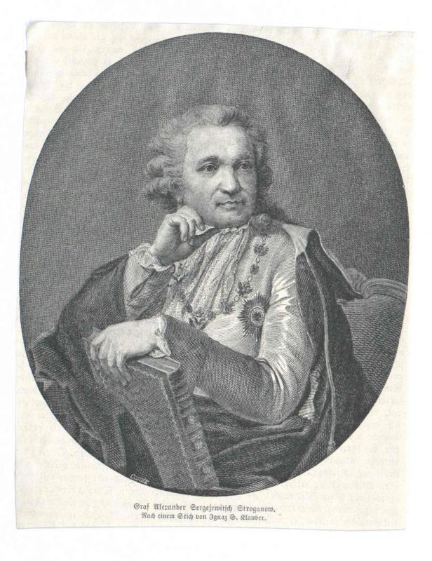Stroganow, Alexander Sergejewitsch Graf