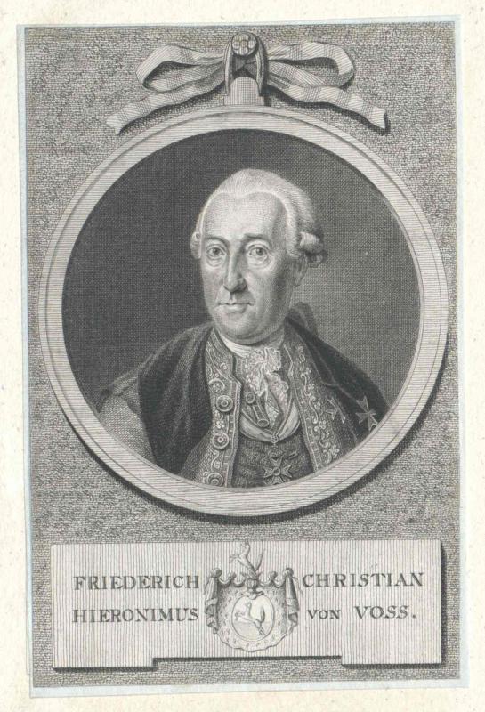Voss, Friedrich Christian Hieronymus von