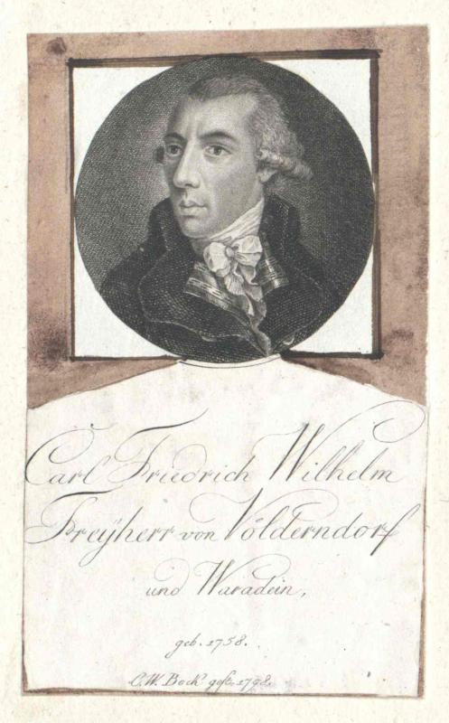 Völderndorff und Waradein, Carl Friedrich Wilhelm Freiherr von