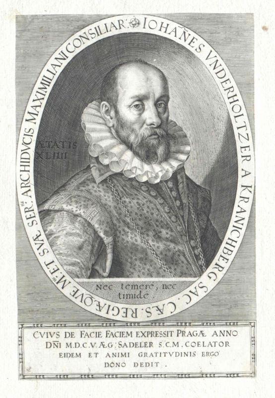Unterholtzer von Kranichberg, Johann