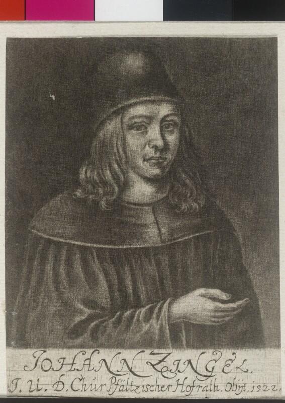Zingel, Johann