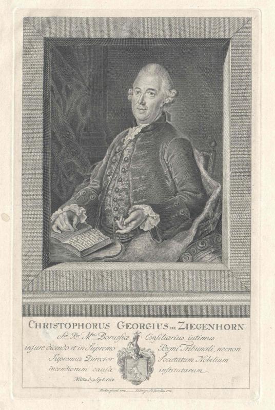 Ziegenhorn, Christoph Georg von