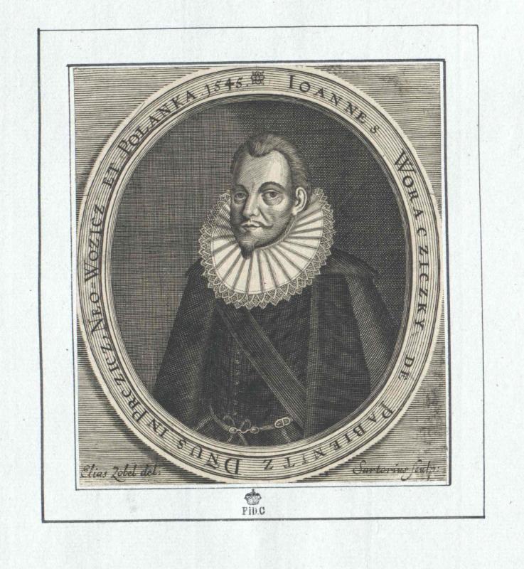 Woracziczky von Pabienitz, Johann Graf