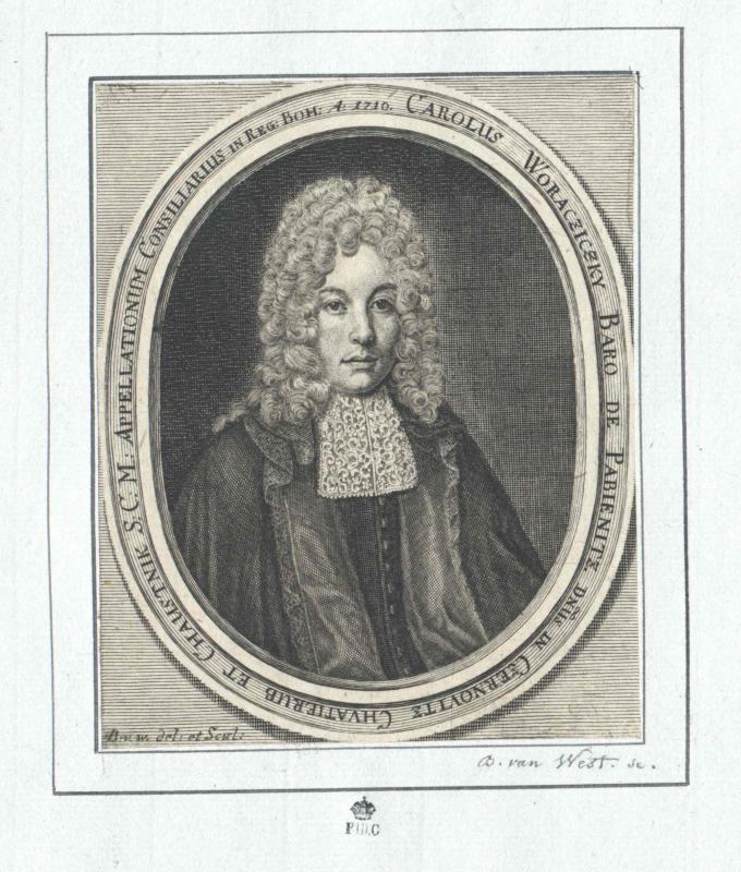Woracziczky von Pabienitz, Karl