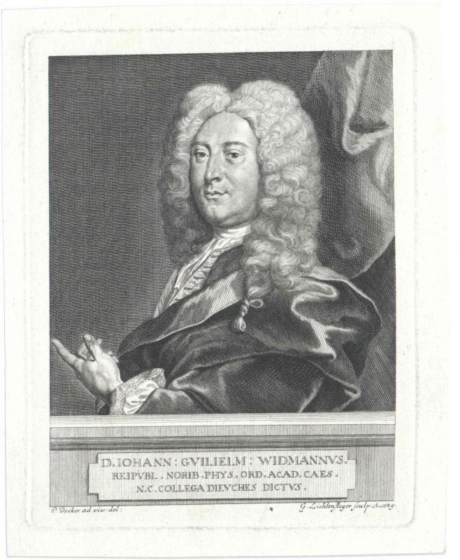 Widmann, Johann Wilhelm d.Ä.
