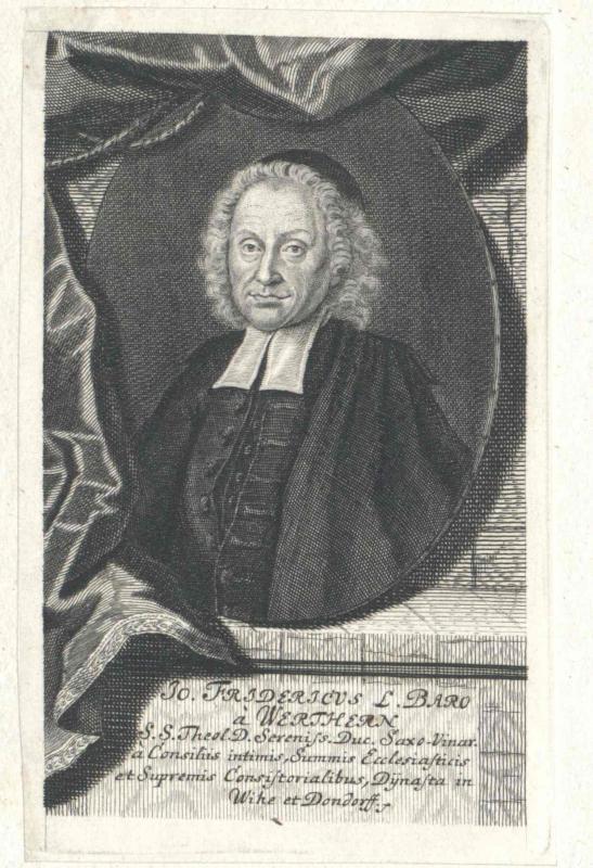 Werthern, Johann Friedrich Freiherr von