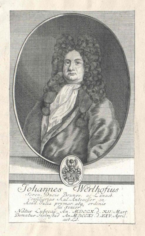 Werlhof, Johann