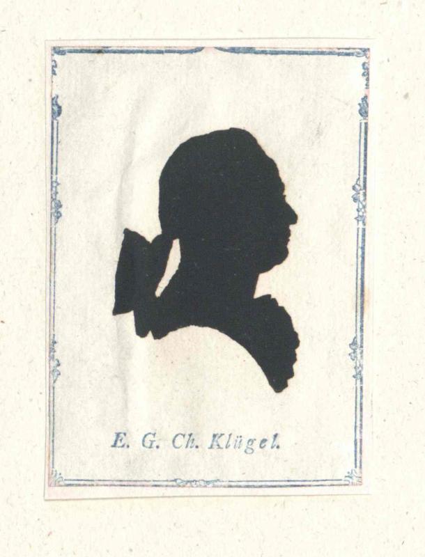 Klügel, Ernst Gottfried Christian