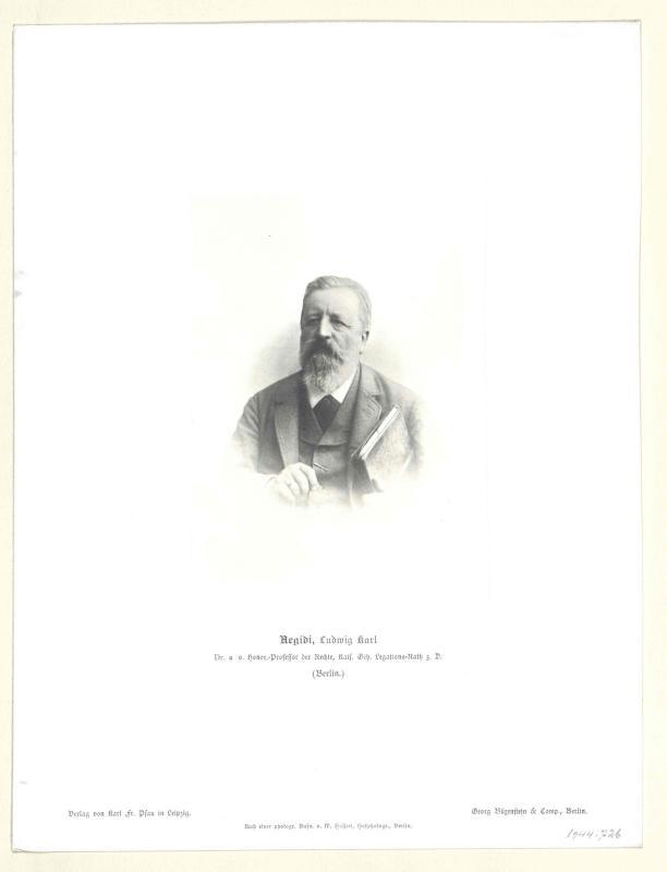 Aegidi, Ludwig Karl