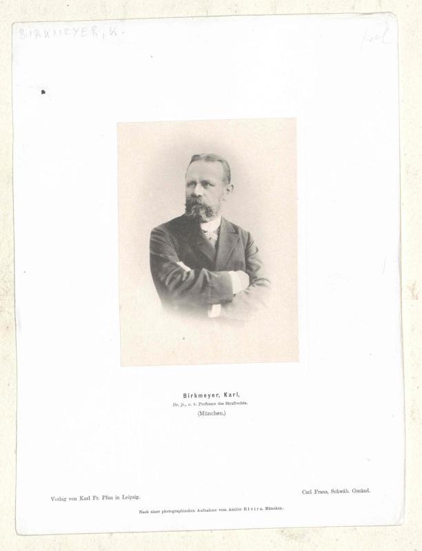 Birkmeyer, Karl Ritter von