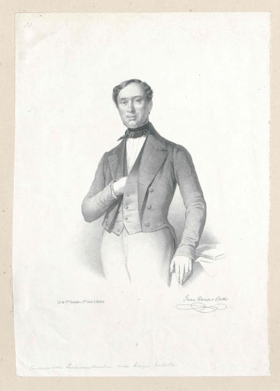 Donoso Cortés, 1. Marqués de Valdegamas, Juan