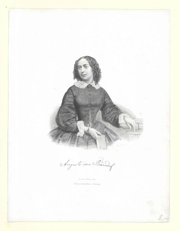 Bärndorff zu Bauerhorst, Auguste von