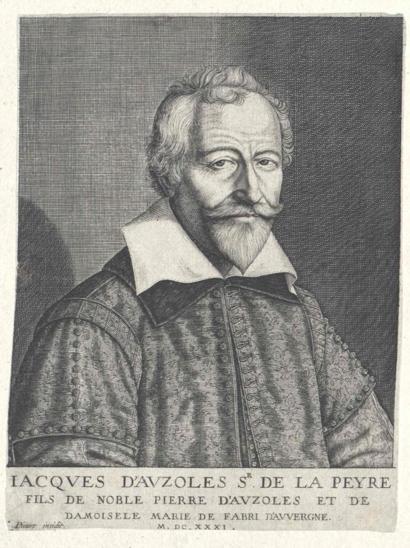 Auzoles de la Peyre, Jacques d'