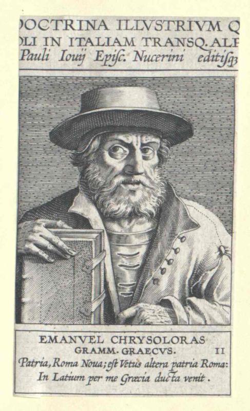 Chrysoloras, Emanuel