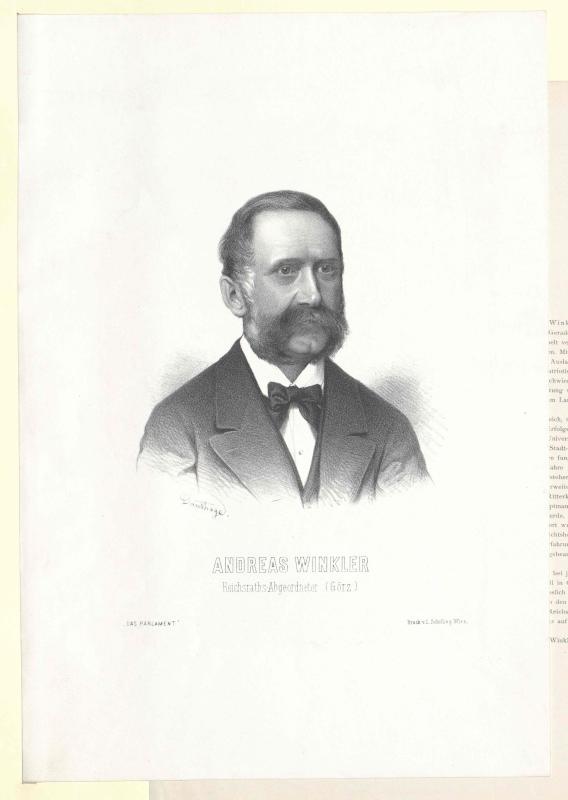 Winkler, Andreas Freiherr von