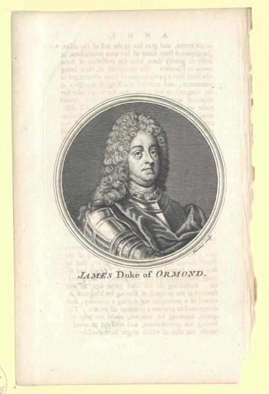 Butler, 2. Duke of Ormonde, James