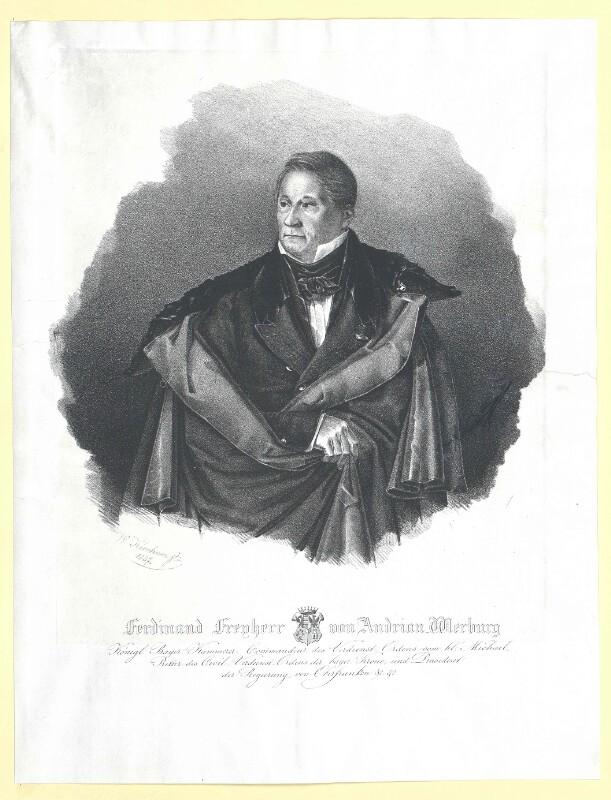 Andrian-Werburg, Ferdinand Freiherr von