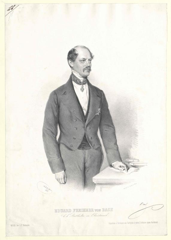 Bach, Eduard Freiherr von