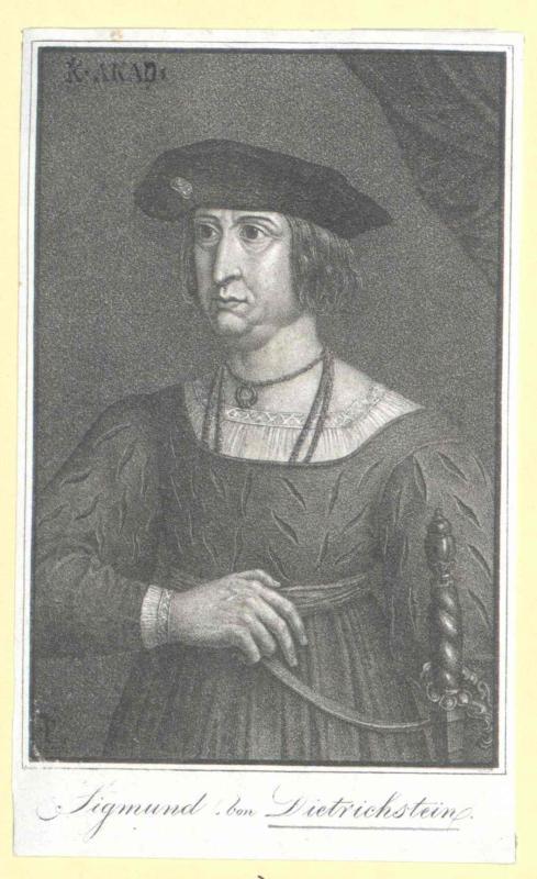 Dietrichstein, Sigismund Freiherr von