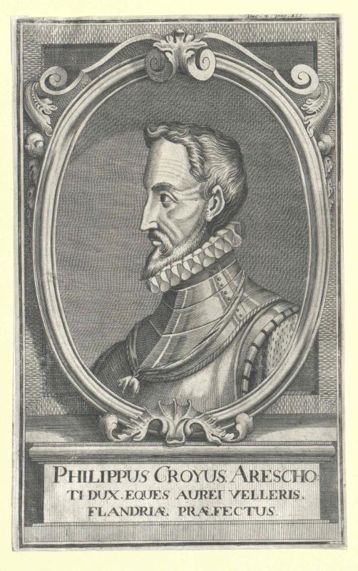 Croy, 3. Duc d´Arschot, Philippe