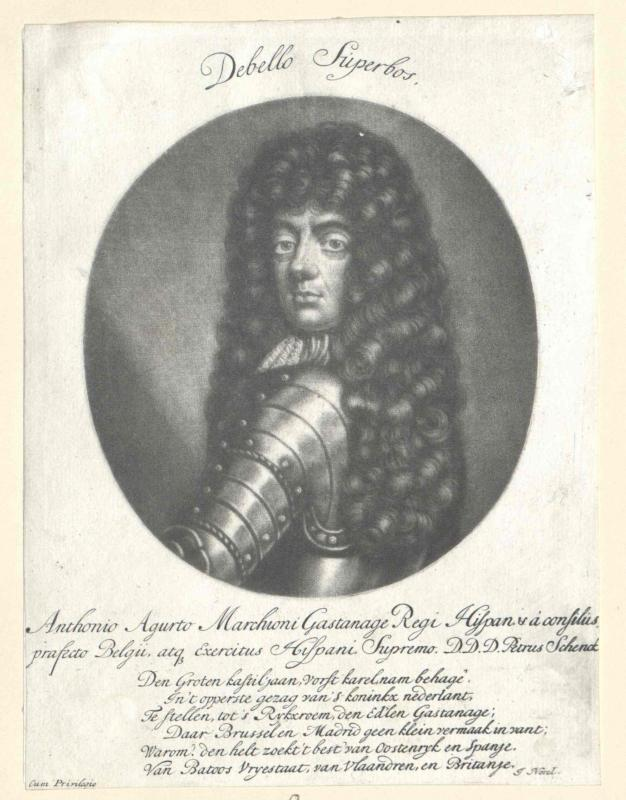Agurto, Marquis de Castagna, Francisco Antonio