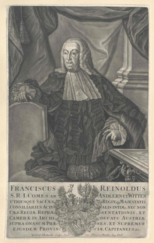 Andlern und Witten, Franz Reinhold Graf von