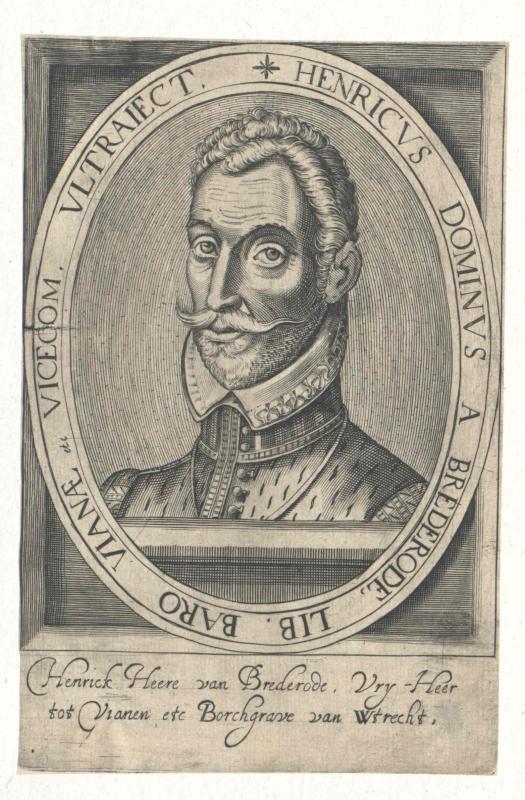 Brederode, Heinrich Graf von