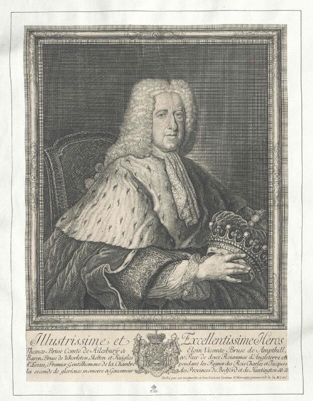 Bruce, 3. Earl of Elgin, 2. Earl of Ailesbury, Thomas