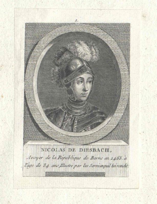 Diesbach, Nikolaus von