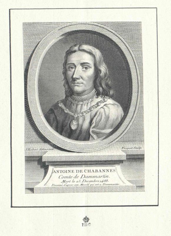 Chabannes, Comte de Dammartin, Antoine de