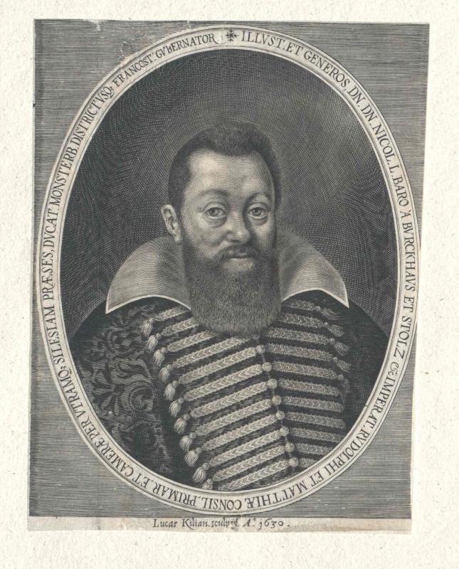 Burghaus und Stolz, Nikolaus Freiherr von