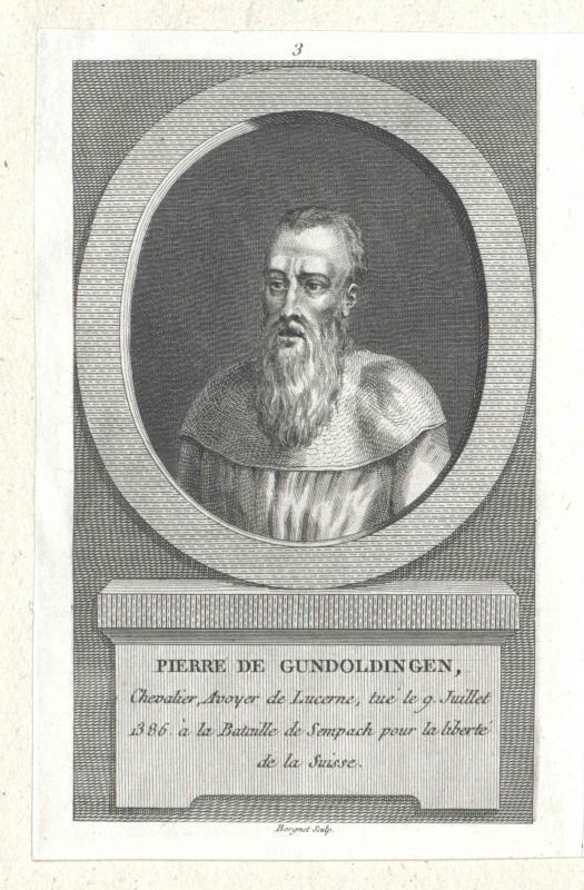 Gundoldingen, Peter von