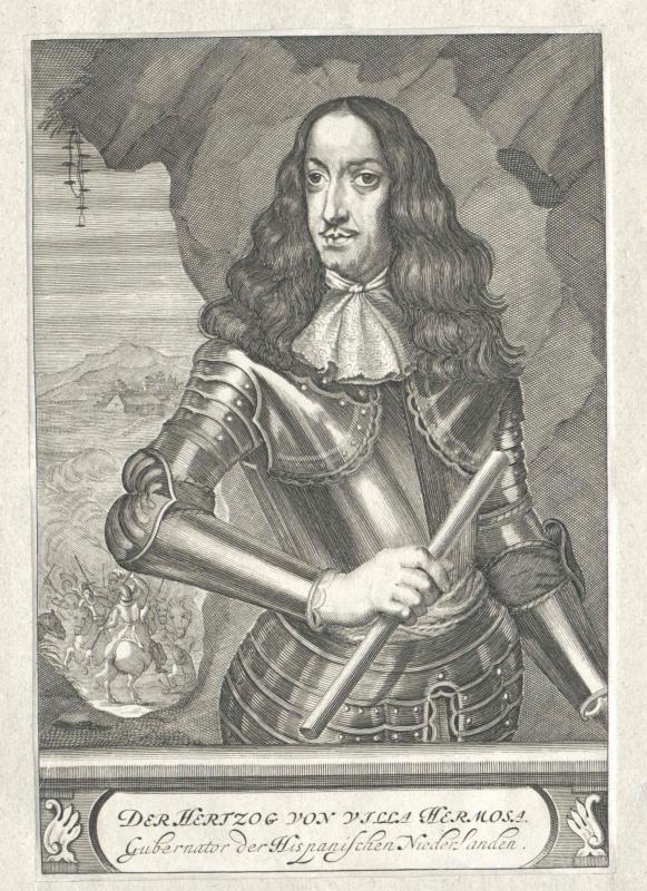 Aragón de Gurrea y Borja, 9. Duque de Villahermosa, Carlos