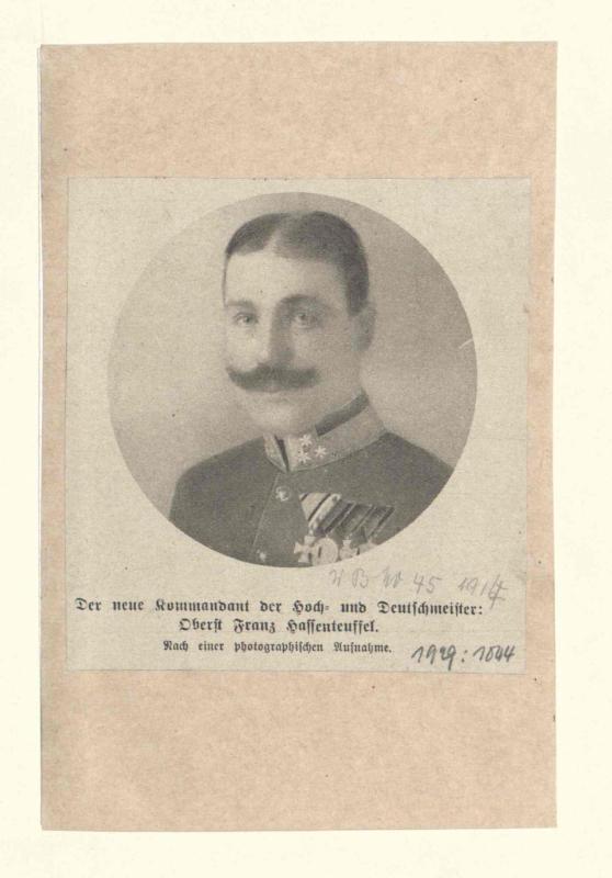 Hassenteufel, Franz