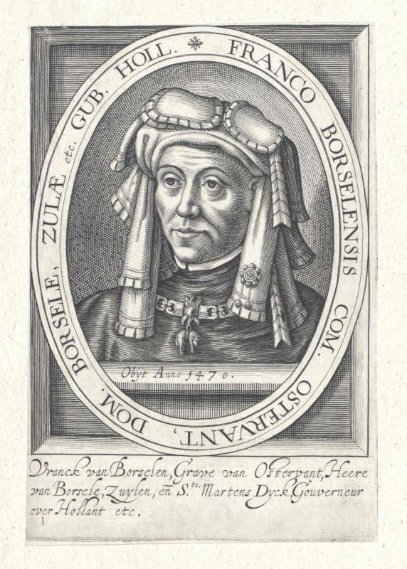 Borselen, Graf von Ostervant, Frank von